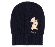 pig patch beanie