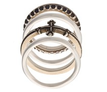 embossed stackable rings
