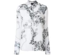 chain print shirt