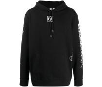 Movement logo print hoodie
