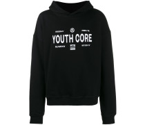 "Kapuzenpullover mit ""Youth Core""-Print"