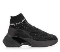 Sock-Sneakers mit Nieten