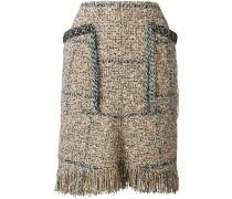 Kurzer Tweed-Rock