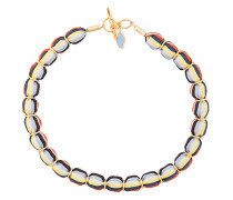 striped beaded necklace