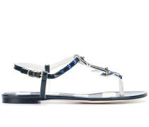 Sandalen mit nautischen Details