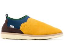 Gefütterte Slip-On-Sneakers aus Wildleder
