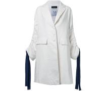 Mantel mit Kordelzug-Ärmeln