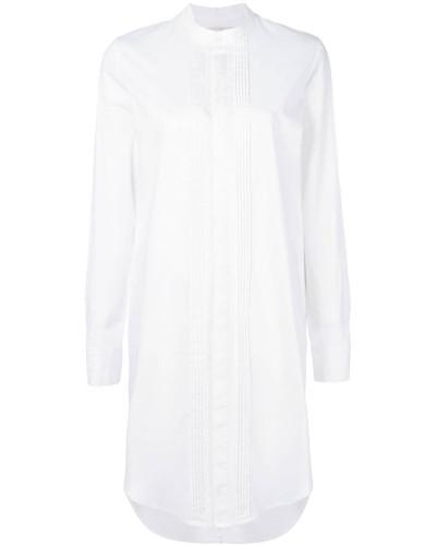 Hemdkleid mit schmalem Schnitt