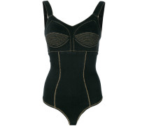 corset fitted bodysuit