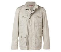 Military-Jacke mit aufgesetzten Taschen