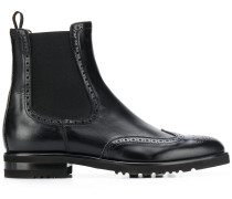 brogue-style Chelsea boots