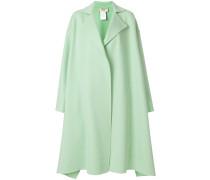 oversized knee length coat