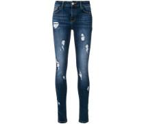 Denise distressed skinny jeans