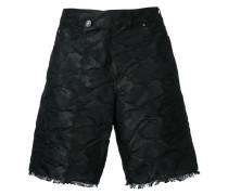 Shorts mit Knitteroptik