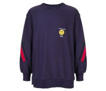 Sweatshirt mit Kontrastdetails