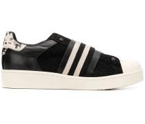 elasticated strap sneakers