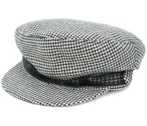 houndstooth cap