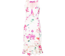 Florales Kleid mit hautenger Passform