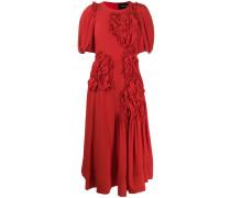 Kleid mit Blumenapplikation