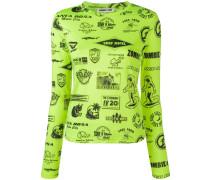Pullover mit Surf-Print