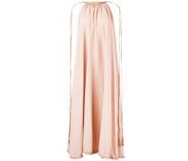 Kleid mit Lederdetails