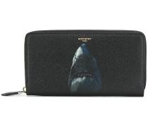 shark printed wallet
