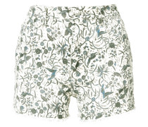 'Uruguay' Shorts mit Print