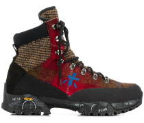 Hiking-Boots im Patchwork-Design
