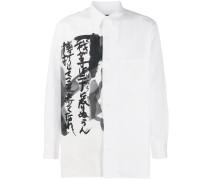 Hemd mit chinesischem Schriftzug