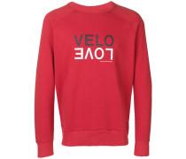 "Sweatshirt mit ""Velo Love""-Print"