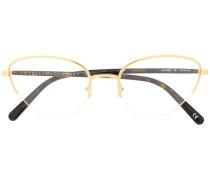 Brille mit halbem Gestell