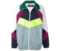 Trainingsjacke in Colour-Block-Optik