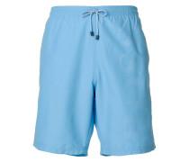 brand embossed swimming trunks
