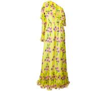 one-shoulder floral maxi dress
