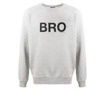 "Sweatshirt mit ""Bro""-Print"