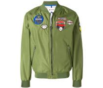 patch bomber jakcet