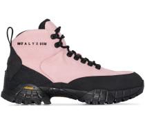 Hiking-Boots mit Logo-Print