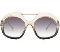 Pilotenbrille in Farbverlauf-Optik