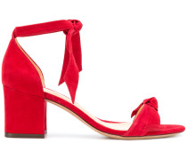 tie detail block heel sandals