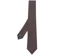 box patterned tie