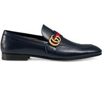 Loafer mit Webstreifen