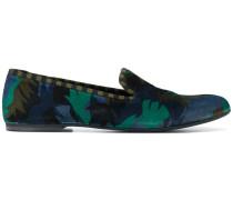 camo palm smoking slipper