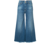 Le Palazzo raw edge crop jeans