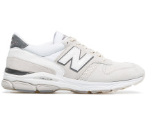 white M770.9 suede low-top sneakers