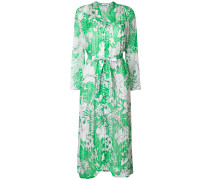 tropical print oversized dress
