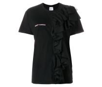 ruffled T-shirt