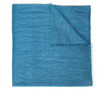 Schal mit ausgefranstem Saum
