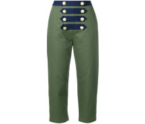 cropped sailor trousers
