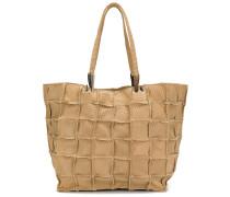 grid detail shoulder bag