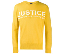 'Justice' Pullover